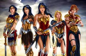 Wonder Women by penichet