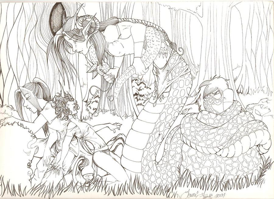weibliche Naga