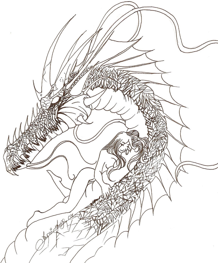 Sea dragon tattoo by xerses on deviantart for Sea dragon tattoo