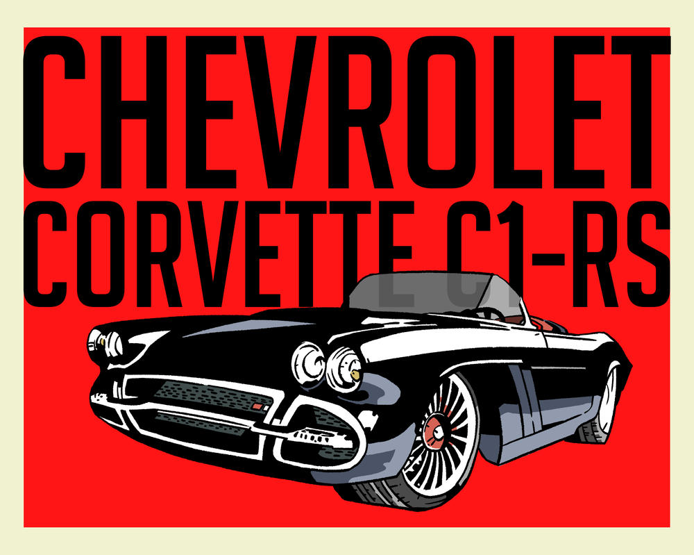 Corvette C1-RS by 007Alfredo
