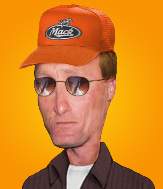 real dale gribble by chewymonkey