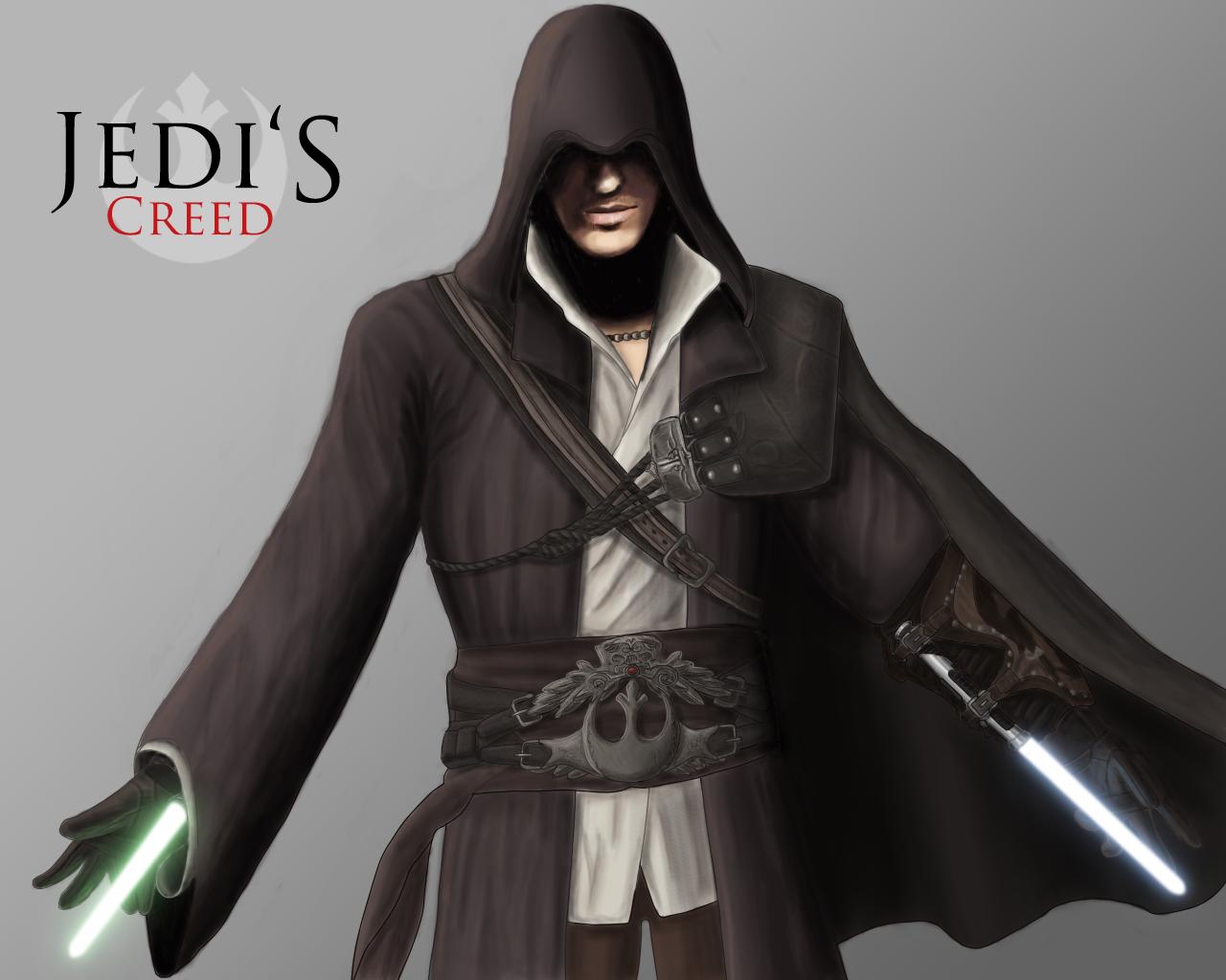 Quelques droleries starwarsienne en images - Page 3 Jedi__s_Creed__Ezio_Auditore_by_JackJasra