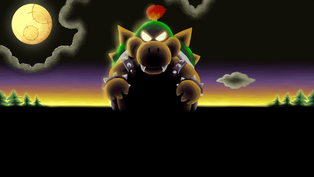 Yoshi S Island Baby Bowser Background