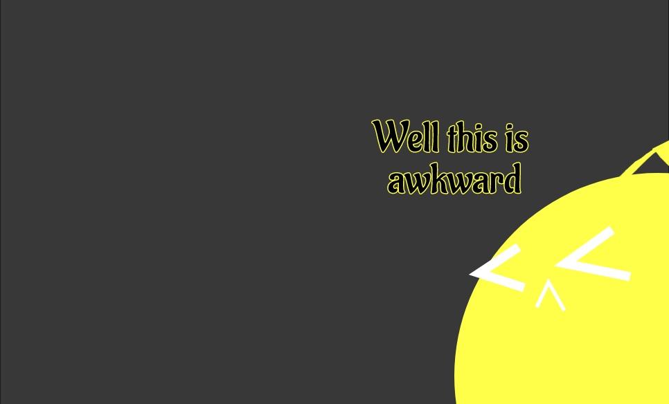 The Awkward Return by NeonFoxtrot