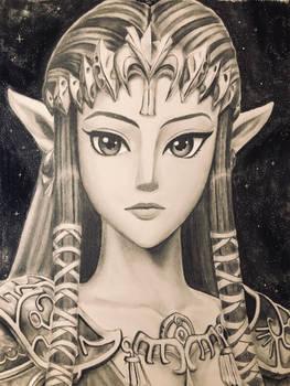 Portrait of Zelda (Twilight Princess)