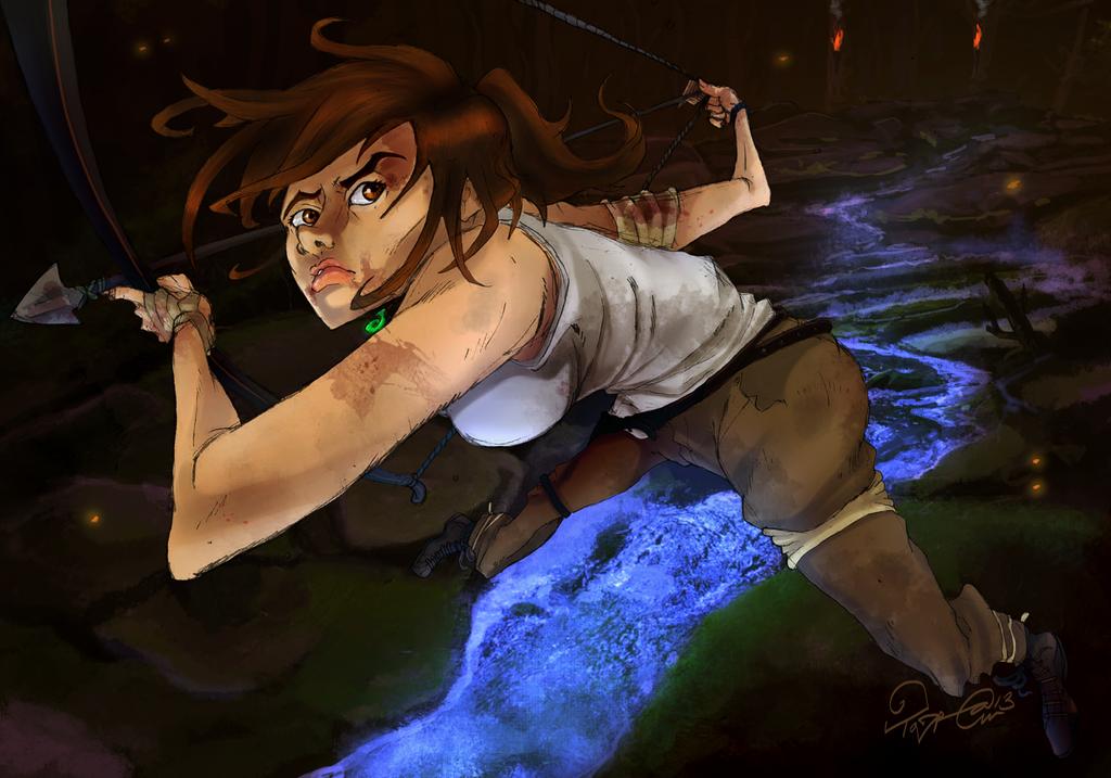 Tomb Raider Reborn by TaraGraphic