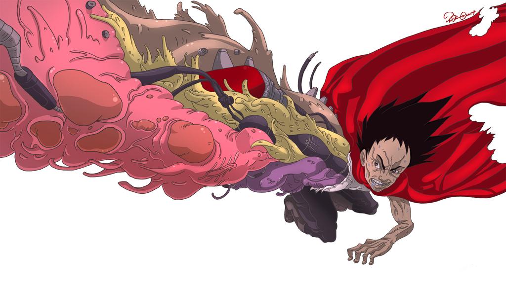 Tetsuo Shima Mutation TETSUO SHIMA by TaraGr...