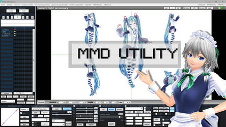 MMD PLUGIN - MMDUtility english tutorial