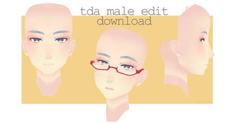 Tda Male Face DOWNLOAD by aagxpe