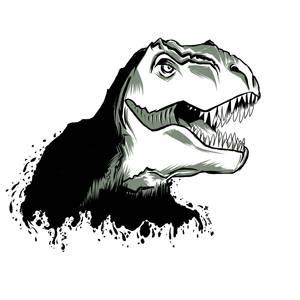 Tattoo request: T-rex