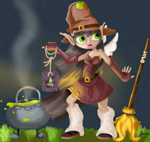 Isa, Lil'Witch by Soozan