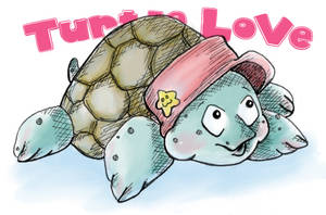 Turtle Love by Soozan
