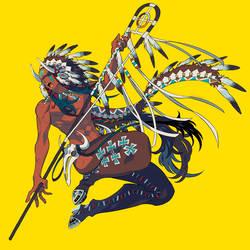 Warrior by edrw