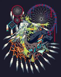 Iktomi by edrw