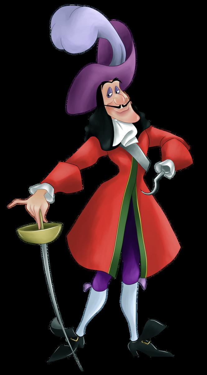 Captain hook by gnuchi on deviantart - Peter pan et capitaine crochet ...