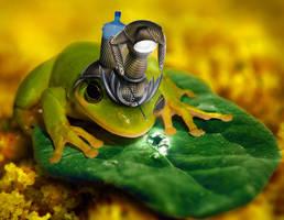 Water drop picker