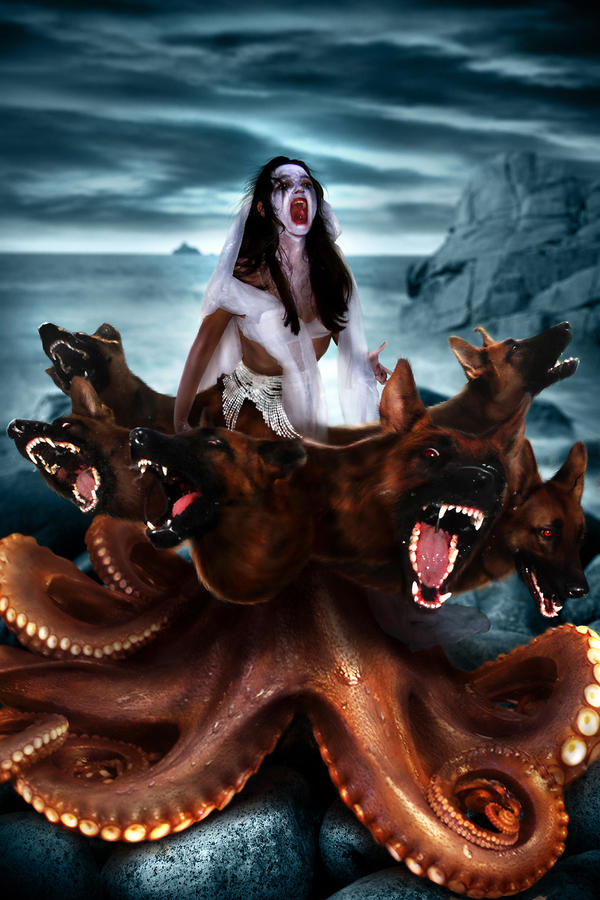 Sirens From The Odyssey Scylla Odyssey Scylla ...
