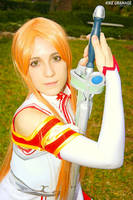 The gleam in her eyes - Asuna Yuuki cosplay by XiXiXion