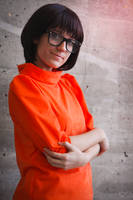 Miss Velma Dinkley cosplay by XiXiXion