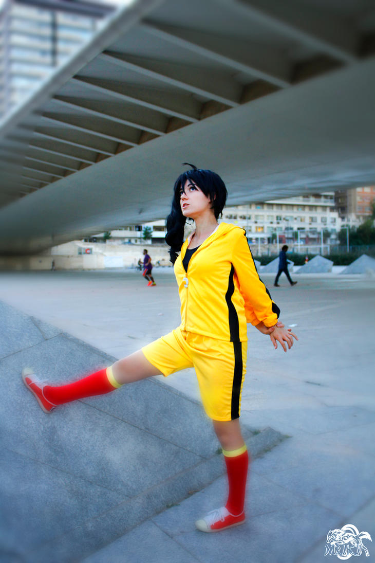 A little training - Karen Araragi cosplay by XiXiXion