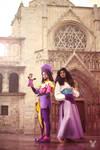 Clopin and Esmeralda cosplay - 1