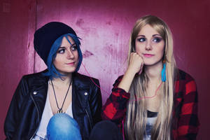 Chloe Price and Rachel Amber cosplay - 1 by XiXiXion