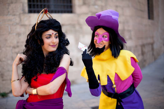 Queen of hearts and King of Fools - Cosplay