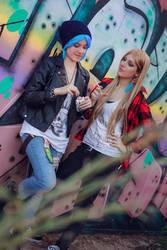 Chloe Price and Rachel Amber cosplay - 2