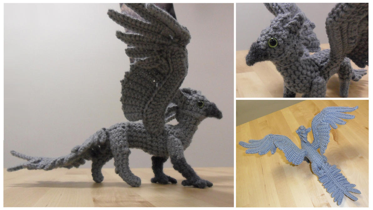 Gryfon Amigurumi - Shard by SilverTwilight05