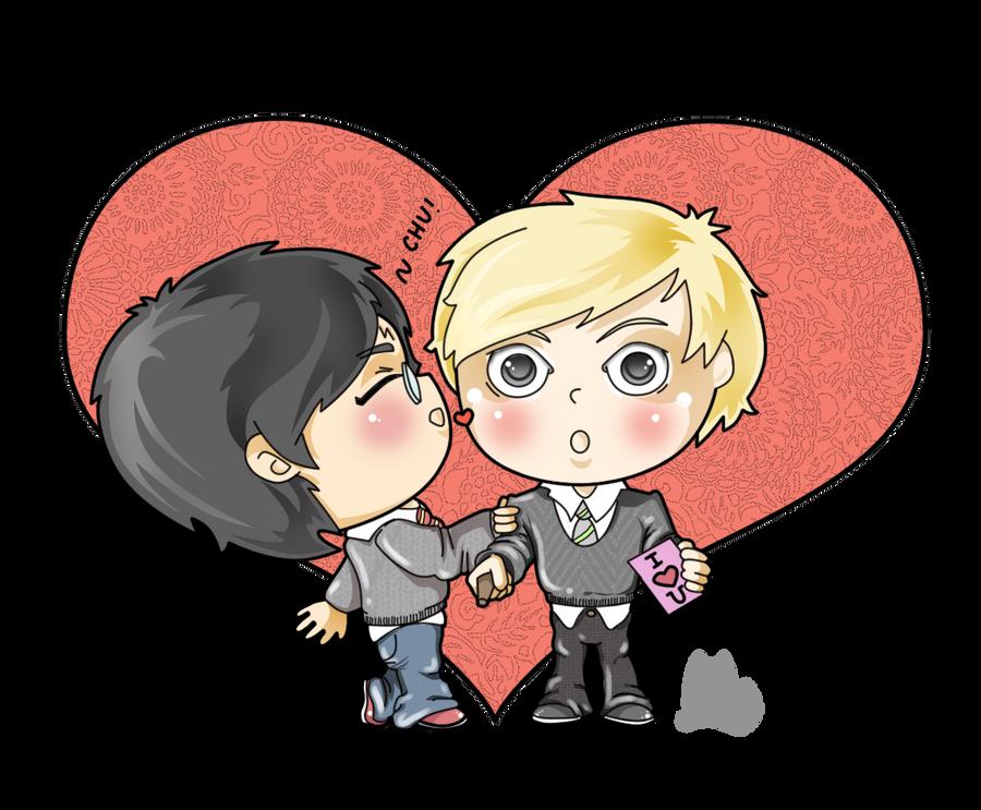 Be my valentine by FloraDelaney