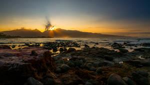 Sunrise over the stones