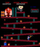 Ralph in Donkey Kong