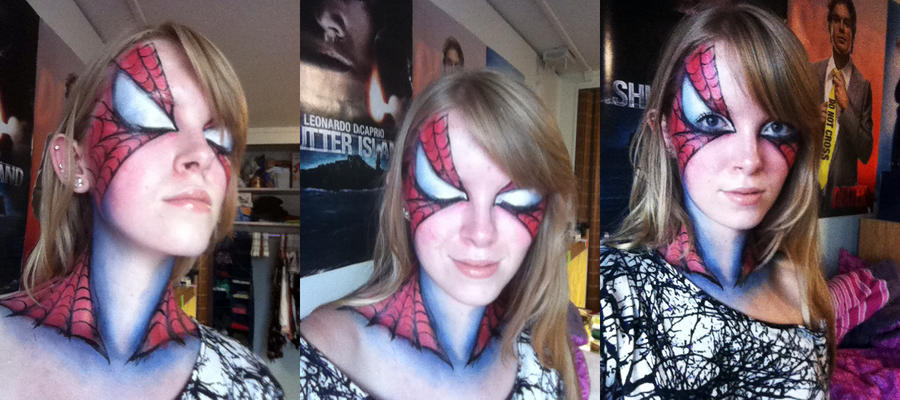 Spiderman Makeup by arseniic