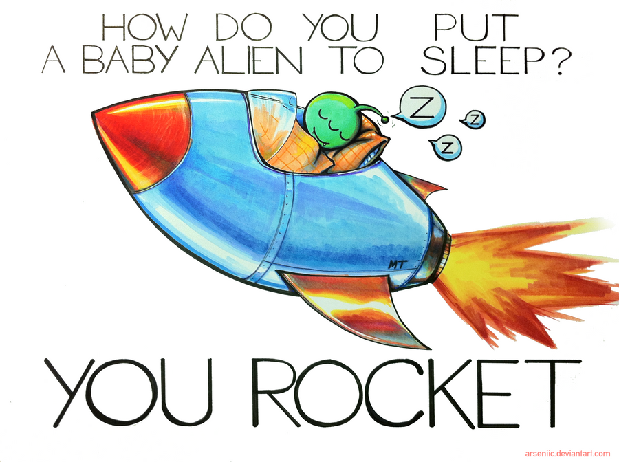 How do you put a baby alien to sleep? by arseniic on ... - photo#38