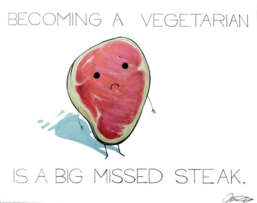 Being vegetarian is...