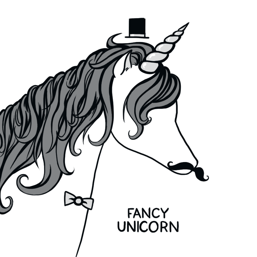 fancy unicorn by arseniic on deviantart