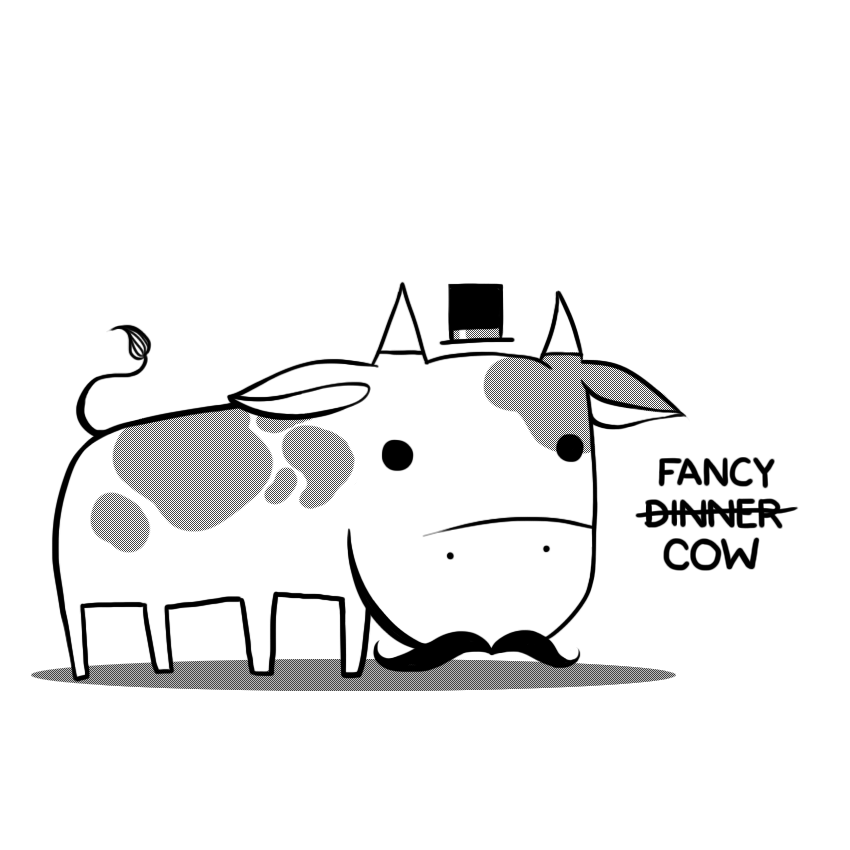 Fancy Cow by arseniic
