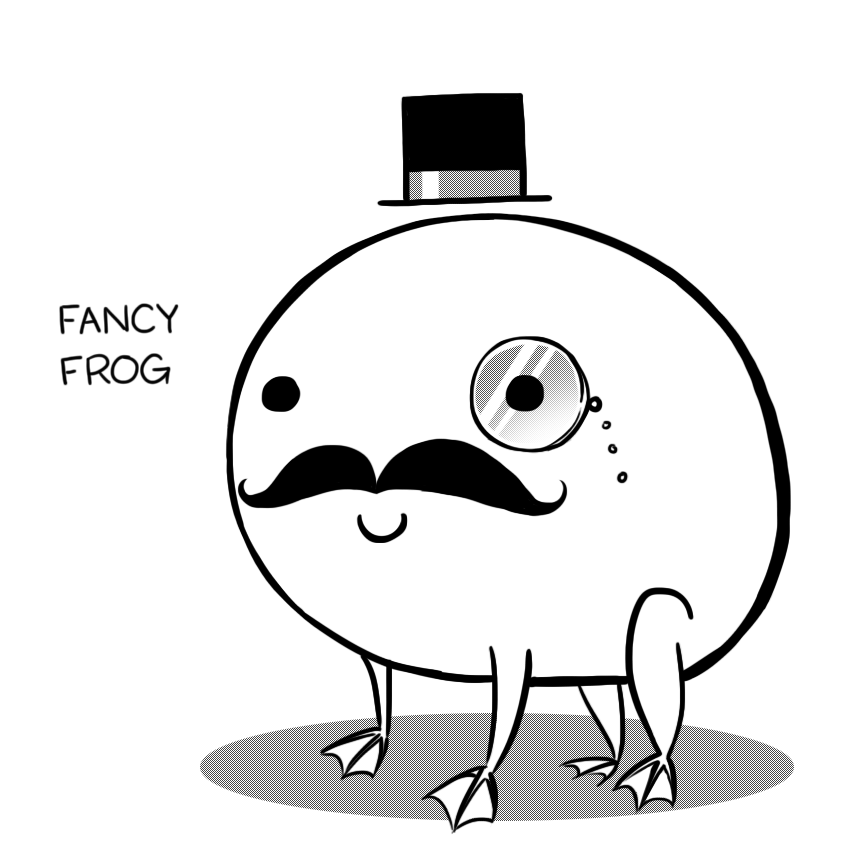 Fancy Frog by arseniic