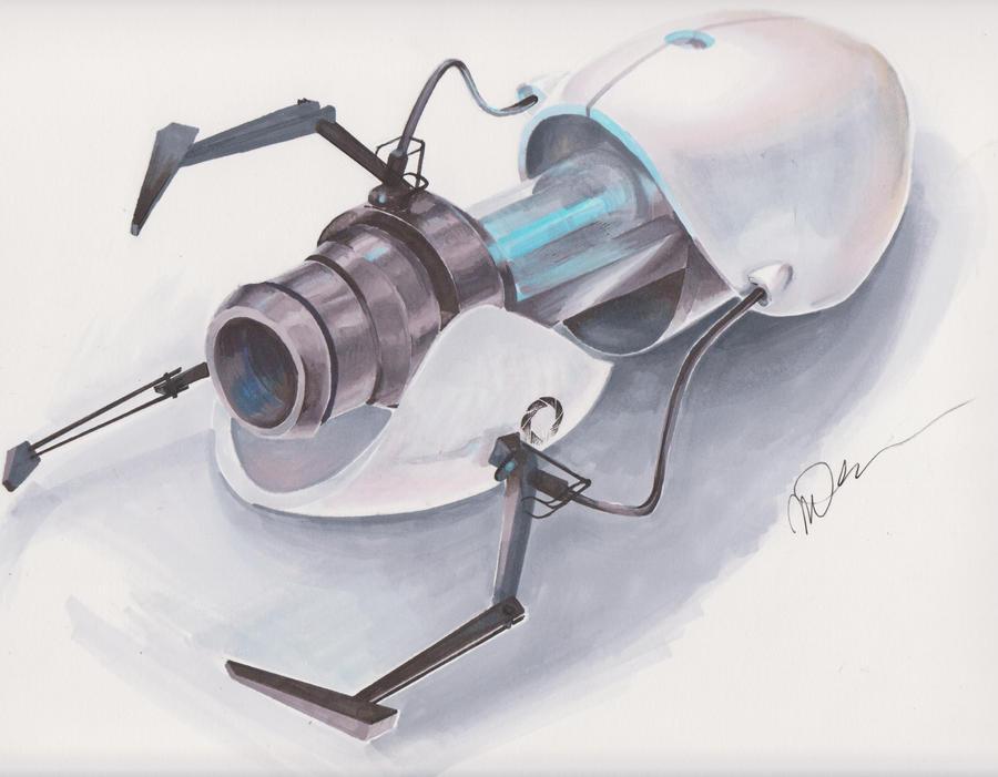 Portal Gun by arseniic