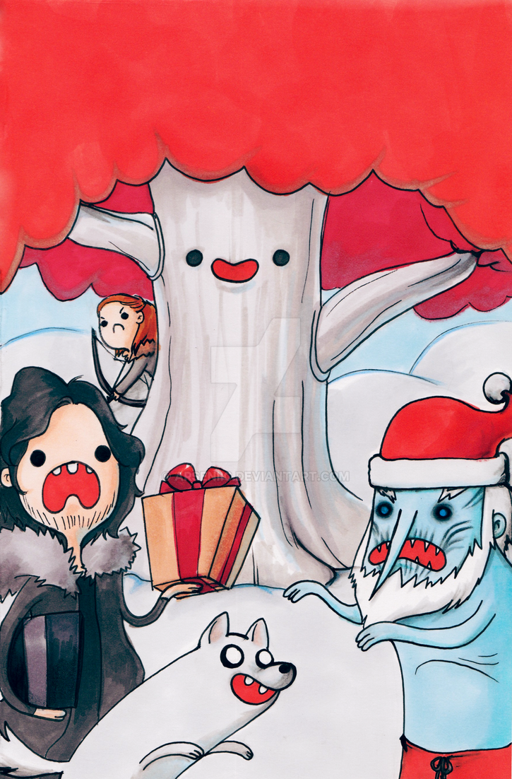 Christmas Time North of the Wall by arseniic