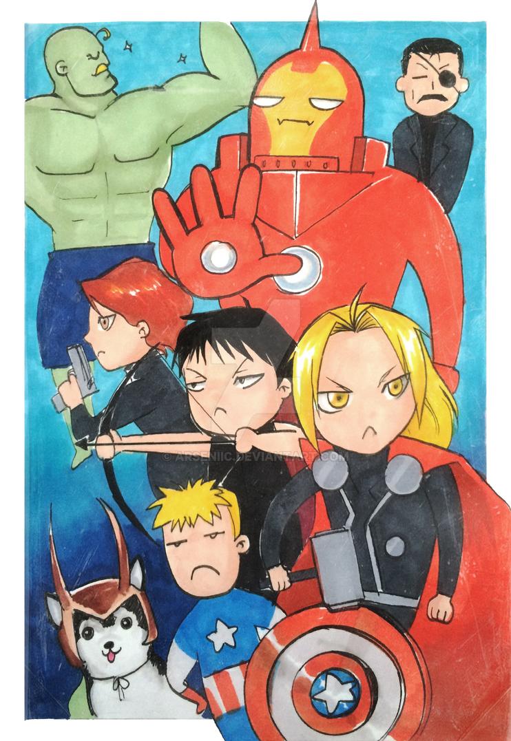 Fullmetal Avengers by arseniic