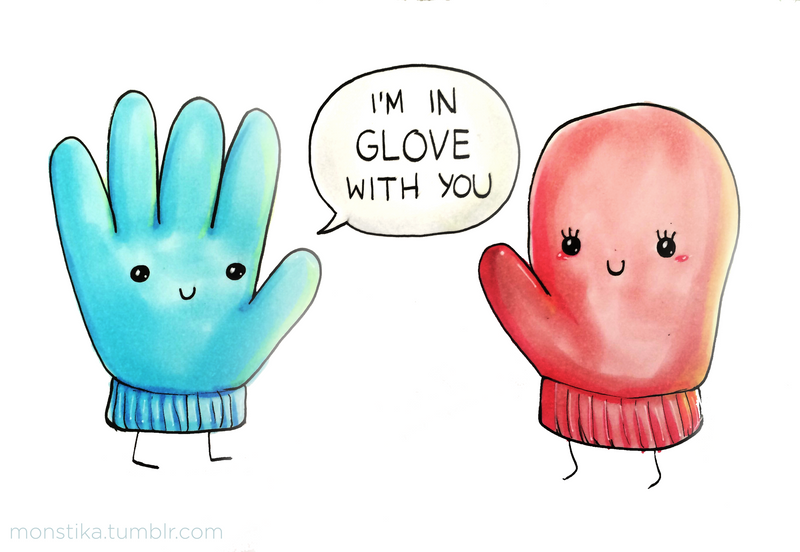 I'm In Glove With You by arseniic
