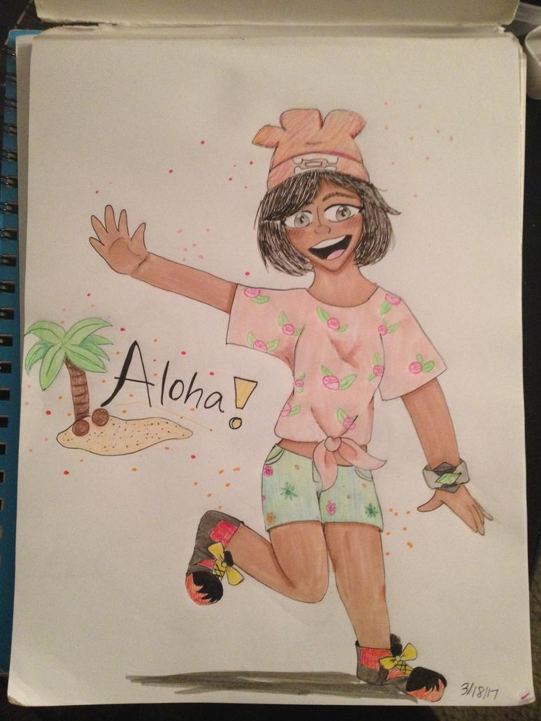 Aloha!!! by AwesomeStarr