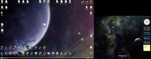 My Desktop by LuckRunsOut