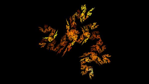 Autumn Cascade by LuckRunsOut