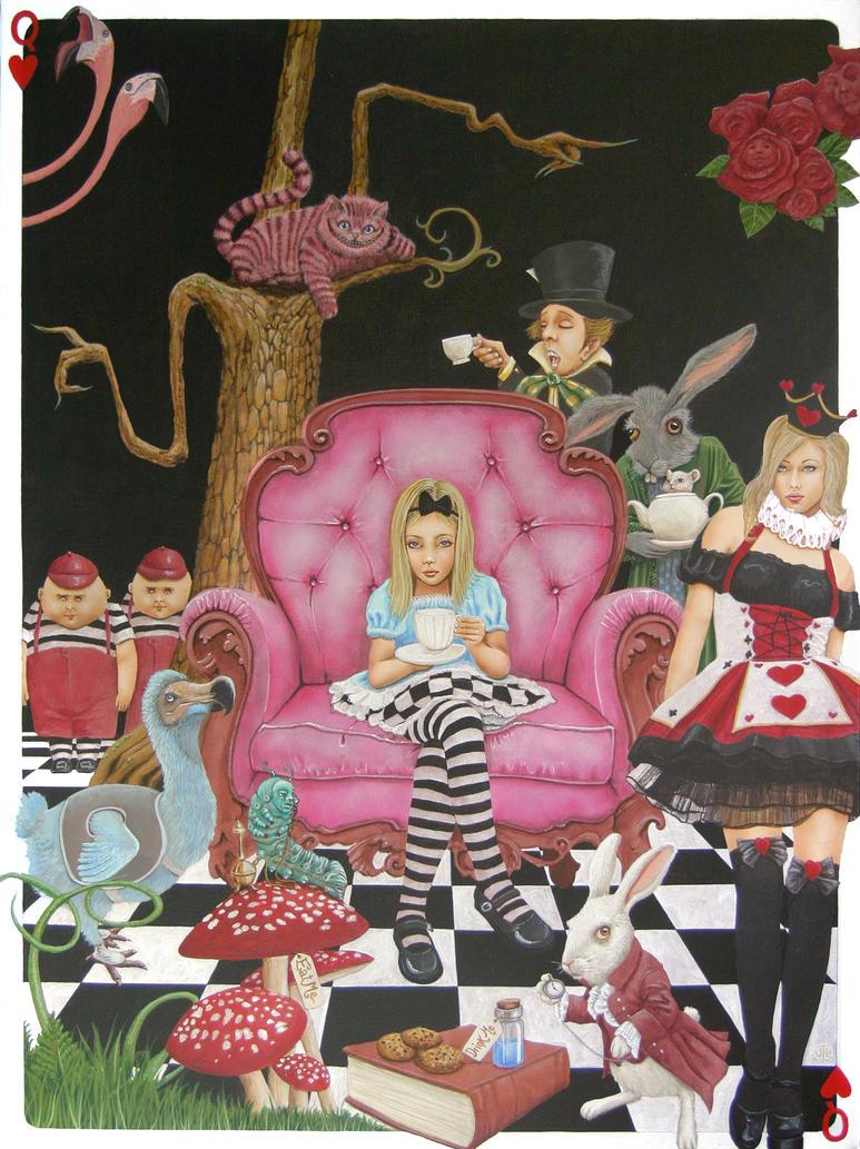 Tea Time In Wonderland by arpiwane