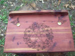 Fairy Star Pagan Altar Cedar