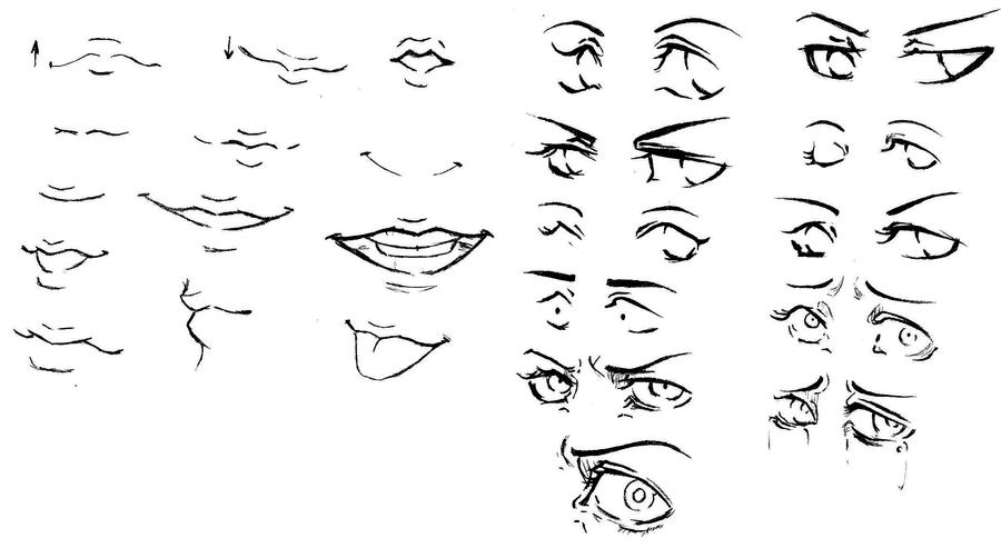 how to draw sexy mouths