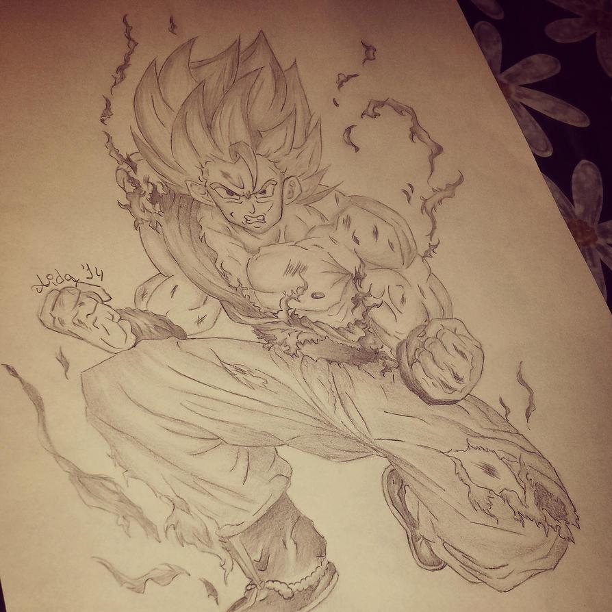 Goku by Lisa159