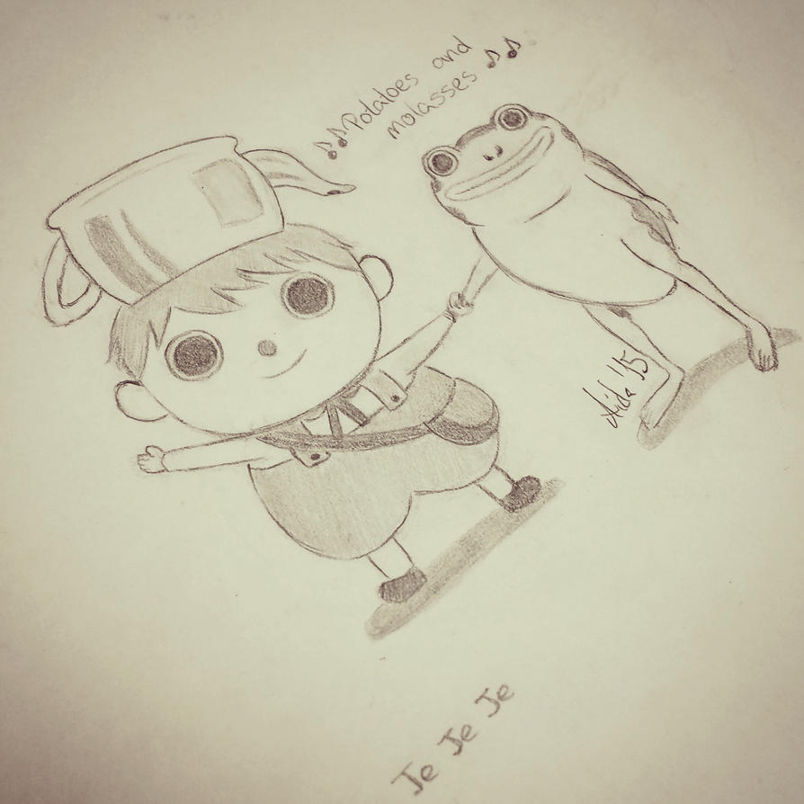 Greg and his frog - Over the Garden Wall by Lisa159